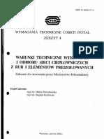 COBRTI INSTAL Zeszyt 4_Sieci Cieplowicze Preizolowane