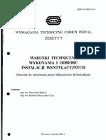 COBRTI INSTAL Zeszyt 5_Inst Wentylacyjne