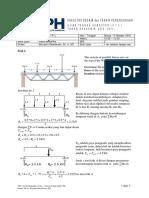 Soal + Jawaban UTS Fisika Mekanika (UPH)