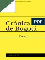 Crnicas de Bogot Tomo I