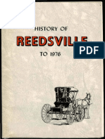 History of Reedsville to 1976