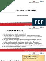 Prinsip-prinsip Etika (IFAC, AICPA,IAI)