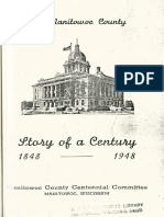 Story of a Century 1848 1948 Manitowoc County During Wisconsins First Hundred Years