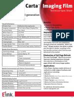 Carta Spec Sheet