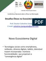 Desafios Eticos No Ecossistema Digital