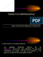 Derecho Empresarial 2017-II
