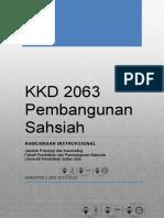 RI KKD2063-Pembangunan Sahsiah