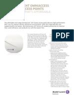 Omniaccess 207 Series AP Datasheet