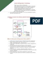 Ammonia Absorption Refrigeration Technology