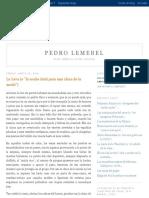 Pedro Lemebel