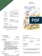 PCC - Bulletin (08-29-10)