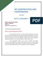 SCAM DA-1 SoftWare Construction