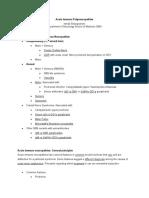Patofisiologi GBS