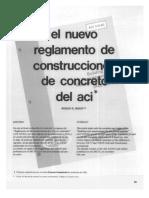 4 El Nuevo Reglamento de Construcciones de Concreto Del ACI