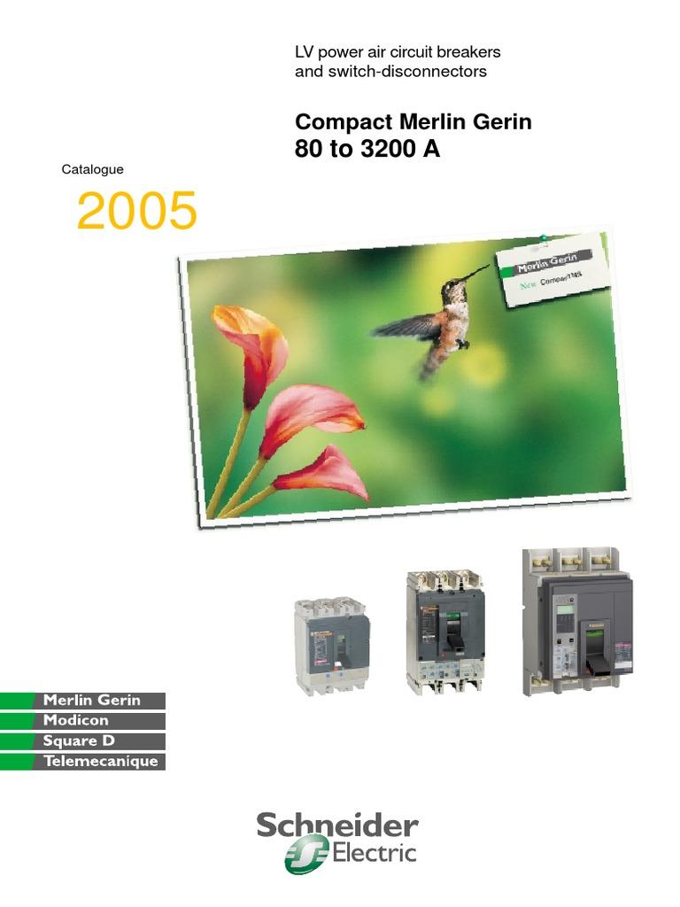 MERLIN GERIN NSC100N 50A-63A-32A