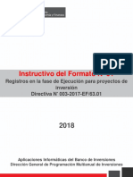 Instructivo Formato 1 Ejecucion