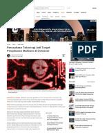 Perusahaan Teknologi Jadi Target Penyeb...Lware Di CCleaner - Tekno Liputan6.Com