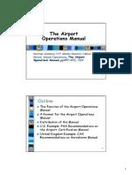 第三週The Airport Operations Manual