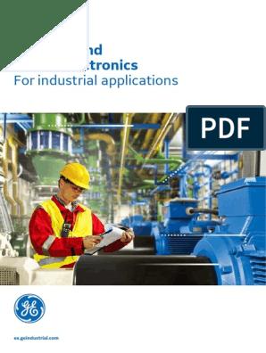 Ge Controls And Power Electronics Catalogue English Ed 07 17 680804 Pn123036 Relay Power Electronics