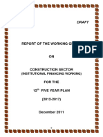 Report - Working Group on Institutional Financing Working
