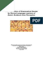 Thesis Grammatical Gender (Revised Version)