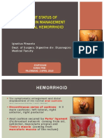 5. CURRENT STATUS of HAL-RAR (Haemorrhoids Casee and Treatment in Indonesia) Prof.dr.Dr. Ing.riwanto, SpB-KBD