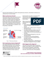 Pulmonary Stenosis Factsheet 2