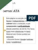 Serial ATA – Wikipédia, A Enciclopédia Livre
