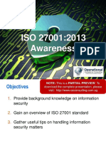 Iso 27001 2013 (Isms) Awareness by Operational Excellence Consulting