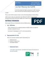 Study Notes Set Theory PrepLadder