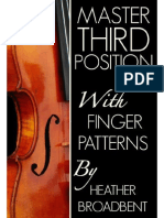 Master Third Position With Finger Patterns