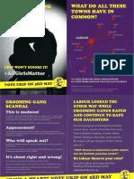 Grooming Gang Scandal    May 3rd 2018 UKIP