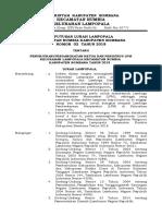 SK Lembaga Pemberdayaan Masyarakat (LPM) Kelurahan Lampopala 2018
