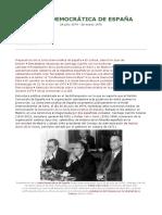 Junta Democrática de España_p. Filosofia en Español