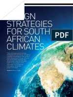 Design Strategies for South African Climates