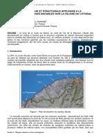 Localisation de Masses Instables Sur La Falaise Du Littoral – Île de La Reunion. (Potherat, Jngg 2006)