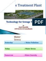STP Plants Technology by A3S Enviro Consultants