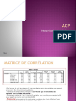 ACP, SPSS Interpretaion