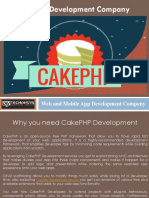 Cake PHP Development Services - Dev Technosys Pvt. Ltd.