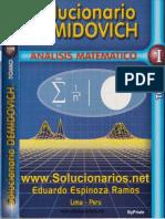 Solucionario Demidovich - Tomo I - Eduardo Espinoza Ramos.pdf