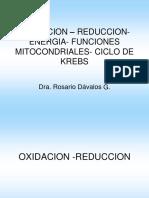 Ci222 de Krebs, Cadena Respiratoria y Fosforilación