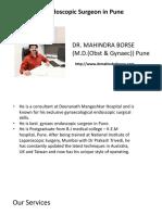 Gynaec Endoscopic Surgeon in Pune