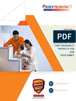 ICICI Pru IProtect Smart Illustrated Brochure