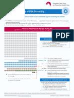 Dépistage par PSA du Cancer de la Prostate V1