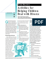 Extension Activities for Helping Children Deal With Divorce