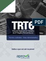 Temas Mais Cobrados Trt6