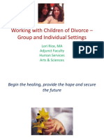 Working With Children of Divorce