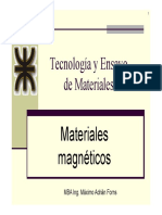 Materiales Magneticos