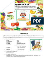 PROYECTO ALIMENTOS