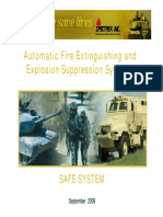 Military Fire Suppression Systems